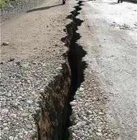 Effetti di un terremoto in Cile